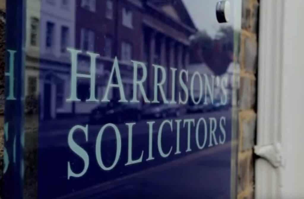 Harrison's Solicitors Shop Front